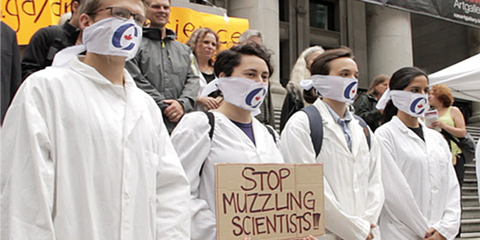 2013-protest-in-Vancouver-against-muzzling-of-scientists