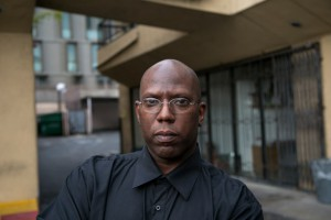 Dr. Ernest Bagner III stands outside his former office tucked in the back corner of a strip mall in Hollywood, Calif., where he says he was the victim of Medicare fraud. (Jonathan Alcorn for ProPublica